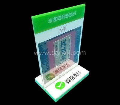 Wholesale acrylic sign stand