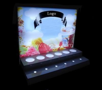 LED light display for food