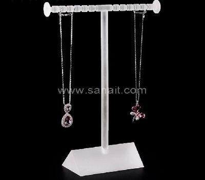 Acrylic necklace display rack