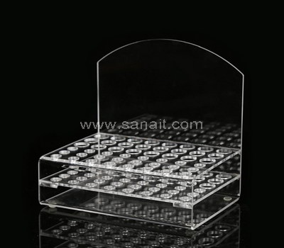 Clear acrylic lipstick stand holder