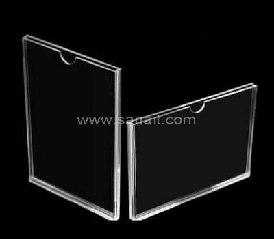 Plexiglass brochure display
