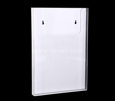 Literature holder for wall