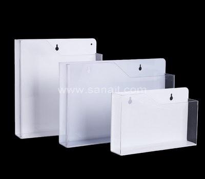 Pamphlet holder wall mount