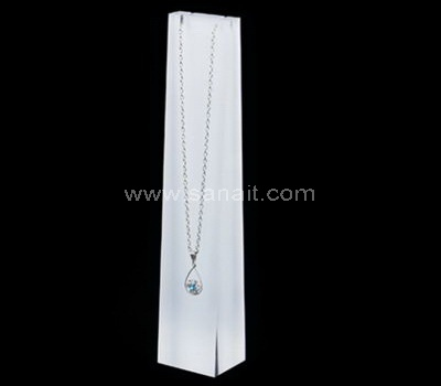 Jewelry necklace display stands