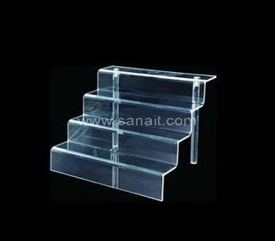 Clear acrylic display risers