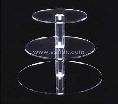 3 tier acrylic cupcake stand