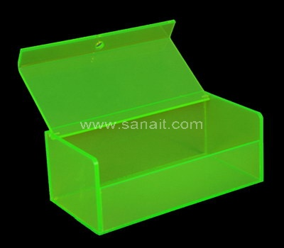 Custom colored acrylic box