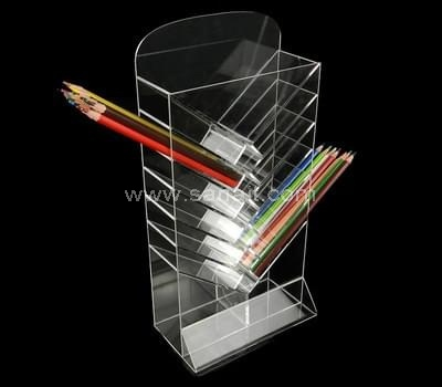 Clear pencil display stand