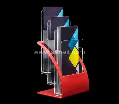 Custom acrylic brochure holder