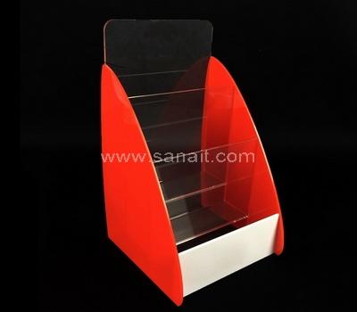 Multi pocket acrylic brochure holder