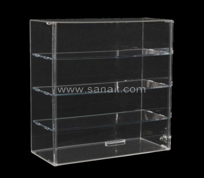 Custom clear display case
