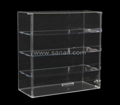Custom clear display case