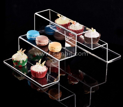 Acrylic food display stands wholesale