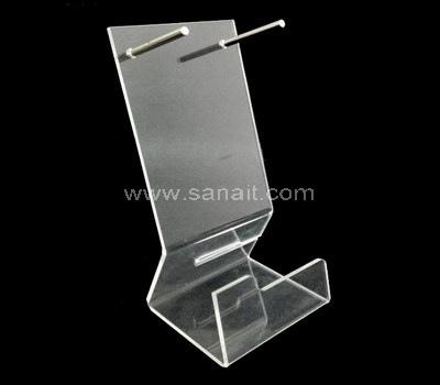 Custom straightening iron display stand