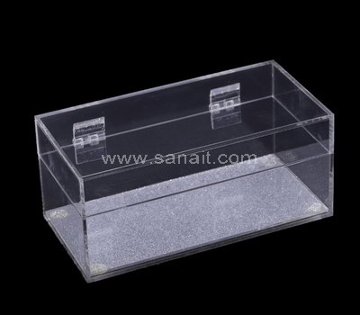 SAAB-104-1 Custom hinged acrylic box