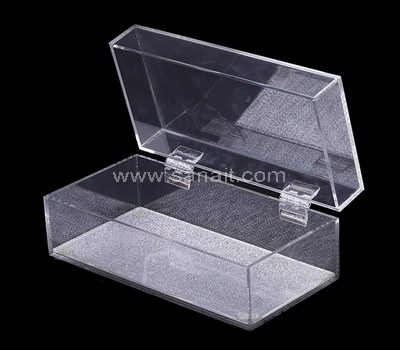 Custom hinged acrylic box