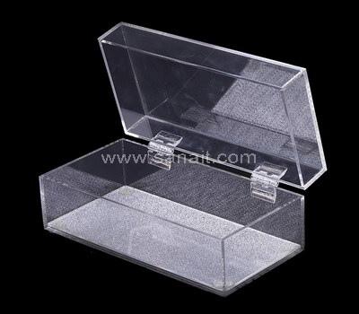 Custom hinged acrylic box