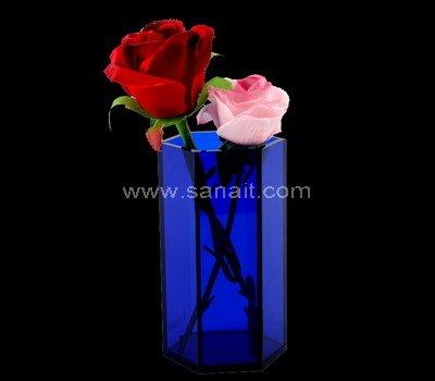 Custom acrylic vase