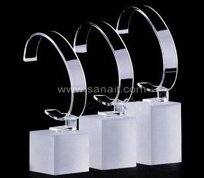 sandblast acrylic watch stand