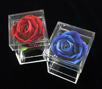 SAAB-110-1 Acrylic box for 1 flower