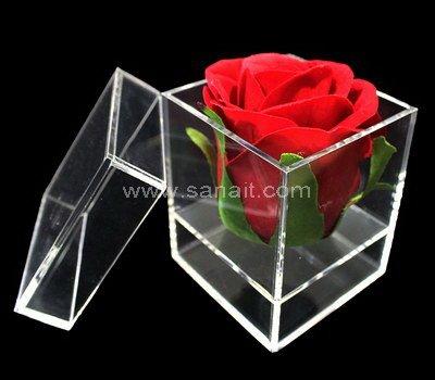 SAAB-110-2 Acrylic box for 1 flower