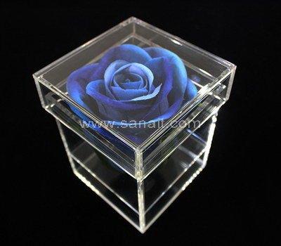 SAAB-110-4 Acrylic box for 1 flower