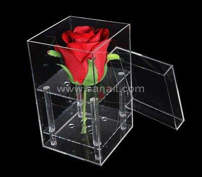 SAAB-111-1 Acrylic flower box with holes