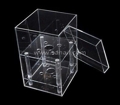 SAAB-111-3 Acrylic flower box with holes