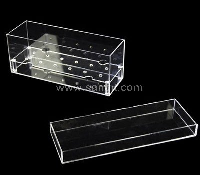 SAAB-112-1 Clear acrylic boxes for 4 flowers