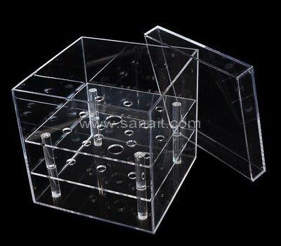 SAAB-113-2 Plexiglass flower box with 9 holes