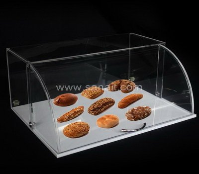 Acrylic bread display case