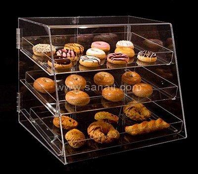 Acrylic bread display