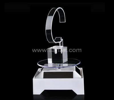 Rotating watch display stand