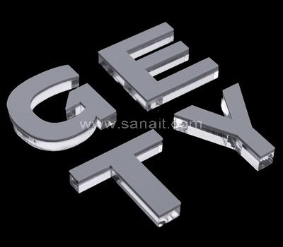 Custom acrylic letters
