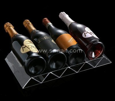 Custom wine bottle display stand