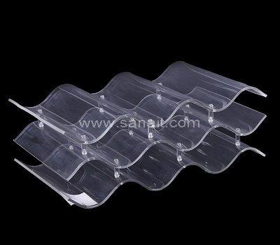 SAOT-122-1 Clear acrylic wine display holder