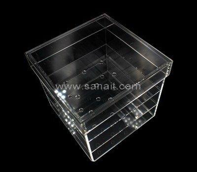 SAAB-115-3 Acrylic rose box with 16 holes