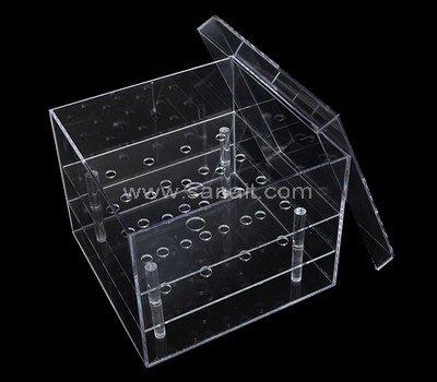 SAAB-115-4 Acrylic rose box with 16 holes