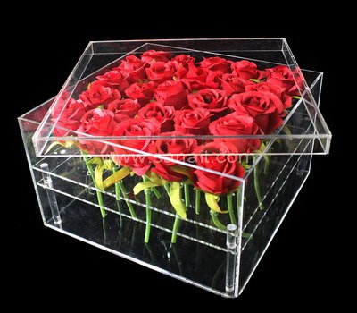 Acrylic rose box with 25 holes