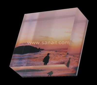 UV printed acrylic blocks