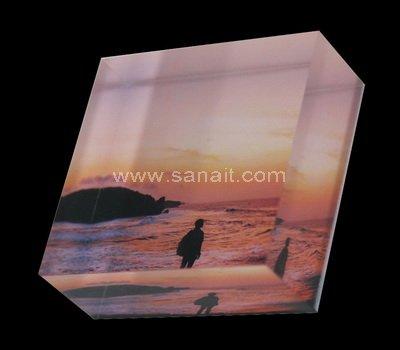 UV printed acrylic blocks
