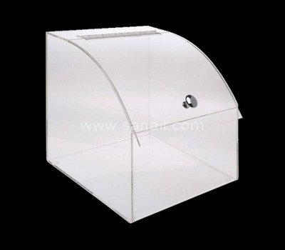 Custom clear bulk food dispenser