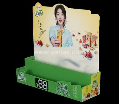 Acrylic display stand for drink beverage