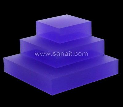 Custom acrylic display blocks