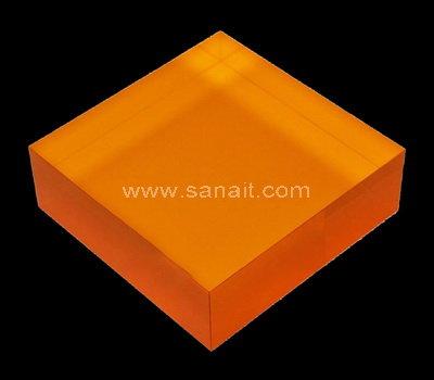 Colored acrylic block