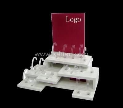 Custom acrylic display for watch
