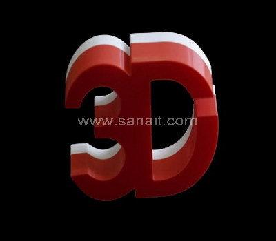 SALC-016-1 Acrylic 3d letter