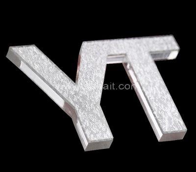 Custom perspex 3d letters