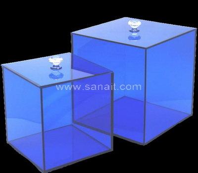 Custom acrylic storage box