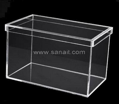 Custom acrylic box with lid